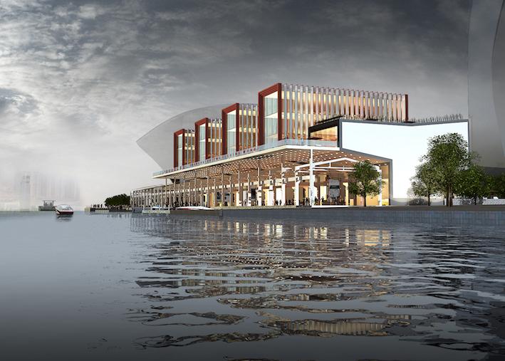 上海东方渔人码头老建筑改造项目  中国上海