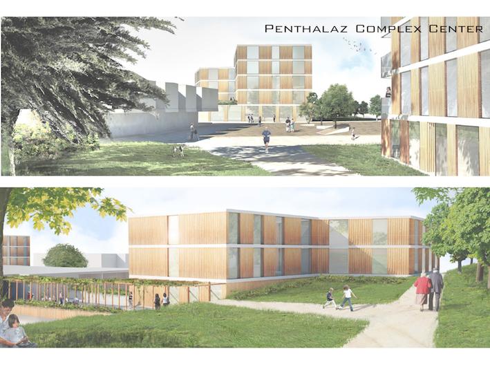 瑞士庞塔拉商业、住宅与办公综合体  瑞士庞塔拉