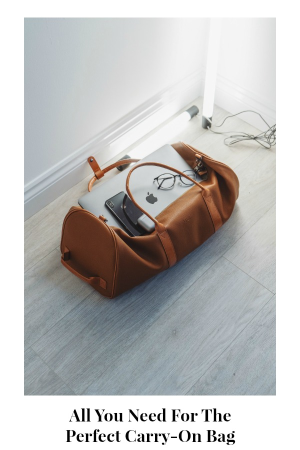 Carry-On Bag Bold Online Magazine