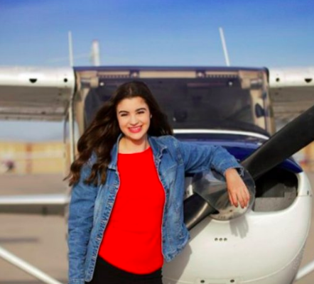 Carly Shukiar: The Leading Lady of the Skies -