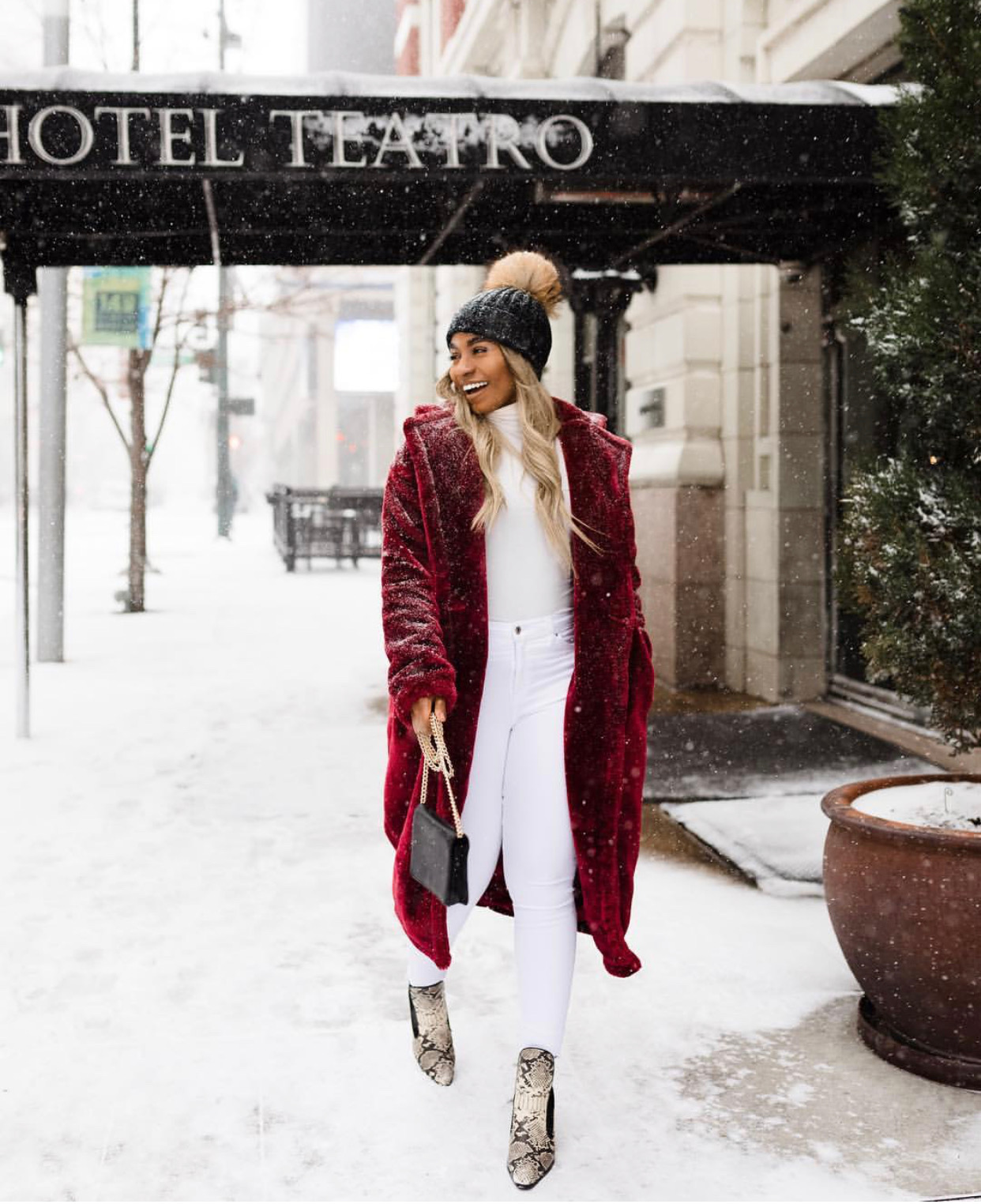 Look cozy and professional with these 8 outfits -