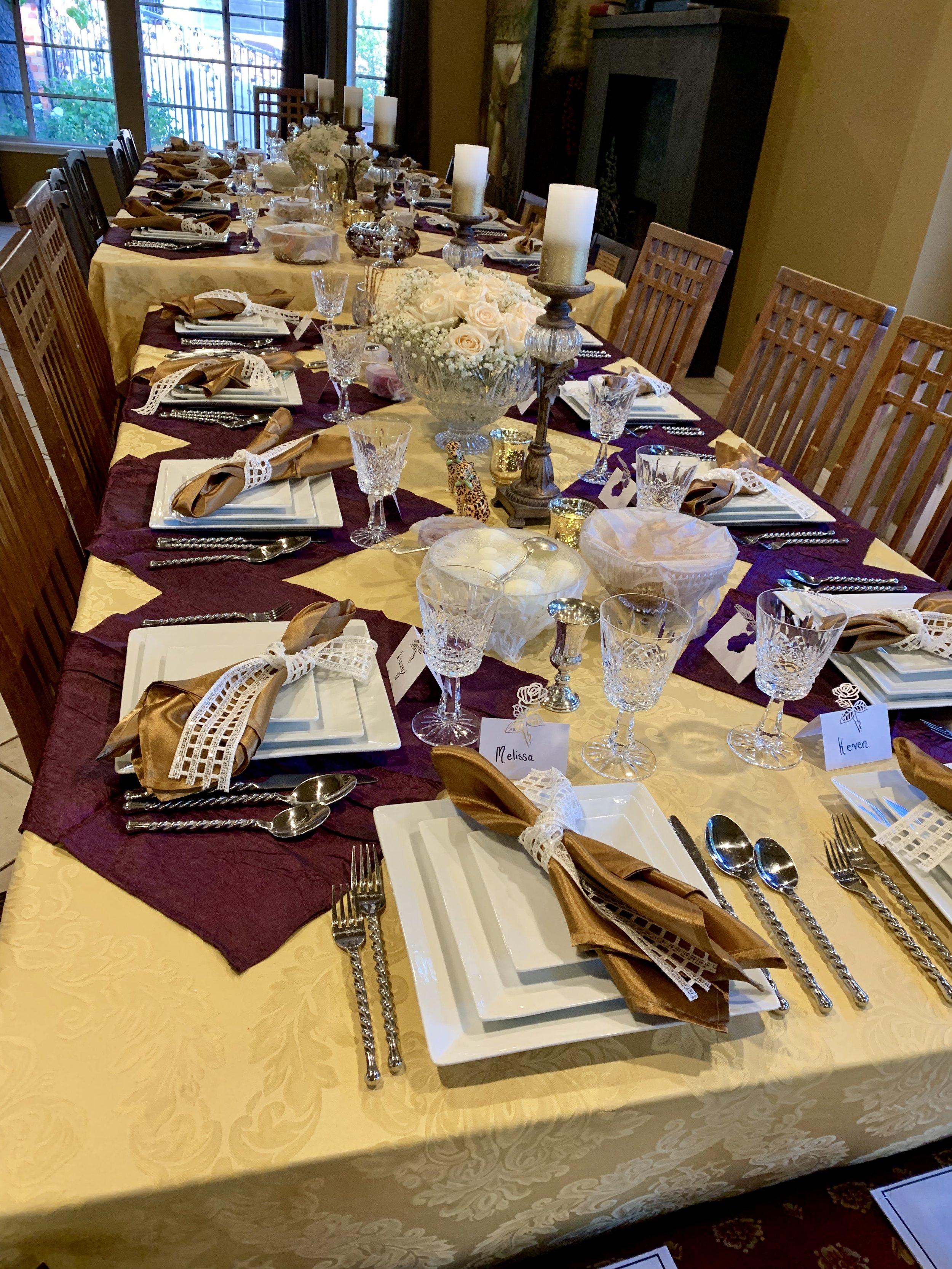 The Sedar table
