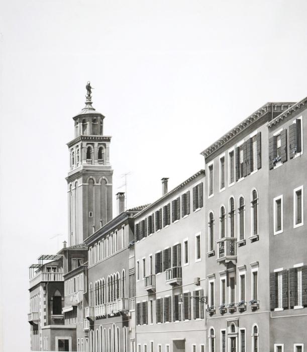 Campanile santo Stefano, Venice, 2011
