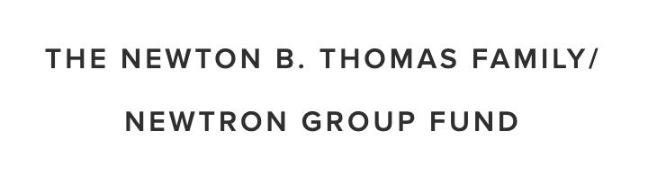 Newton B. Thomas Family - Newtron Group Fund.png