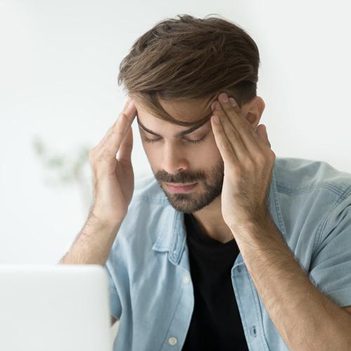 MEDICINSKA BEHANDLINGAR - Huvudvärk - tandpressning - svettning