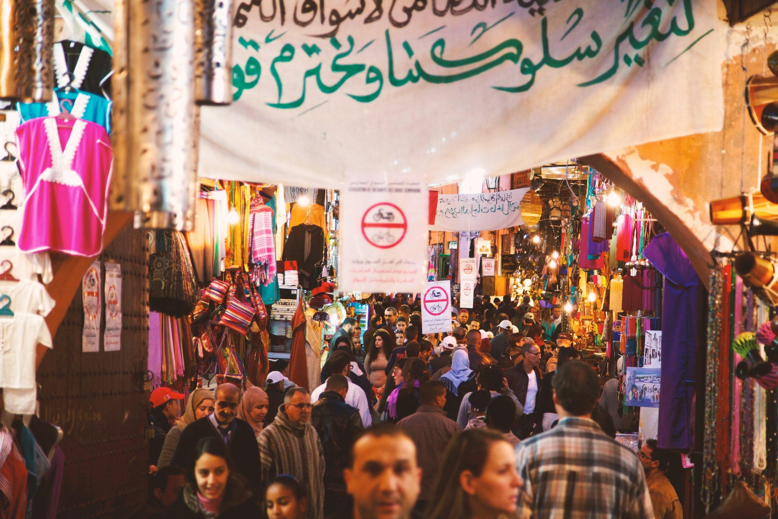 Marrakesh, Morocco Photo by  Ben Ostrower  on  Unsplash