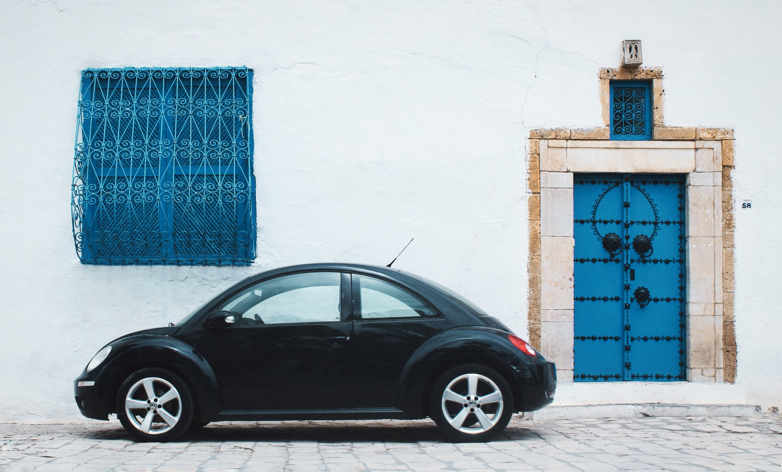 Sidi Bou Said, Carthage, Tunisia  Photo by  Haythem Gataa  on  Unsplash