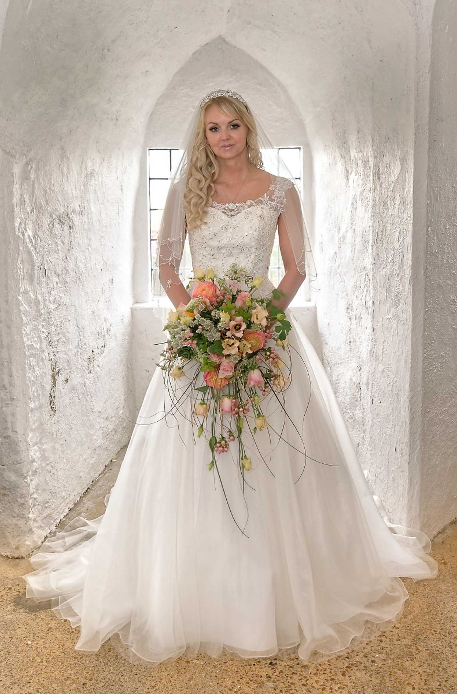 Bride at Lewes Castle