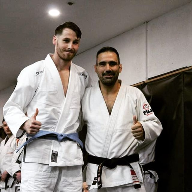 Yesterday I received my Blue Belt from coach @thiagostefanutti  This is an achievement and Milestone I'm very proud of achieving.  Jiu-Jitsu has helped me with some mentally tough times in the past 2 years that I have divulged a minimal amount to only ones closest to me. Also with the support of my beautiful fiance @dr_agwah always supporting me my career & my passion.  The environment at absolute mma, the art BJJ and the people/training partners have made my journey so far one of the most rewarding educational experiences I've ever had.  Thank you @thiagostefanutti for being a coach and leader we are all proud to follow. I'm looking forward to stepping onto the competition mats next year and taking up the training a notch 🙏