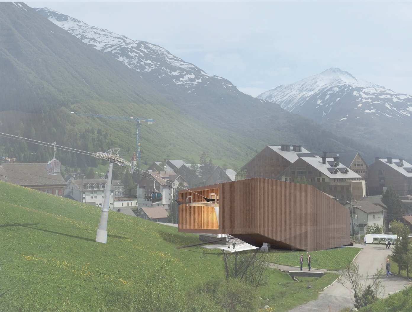 Andermatt Valley Station