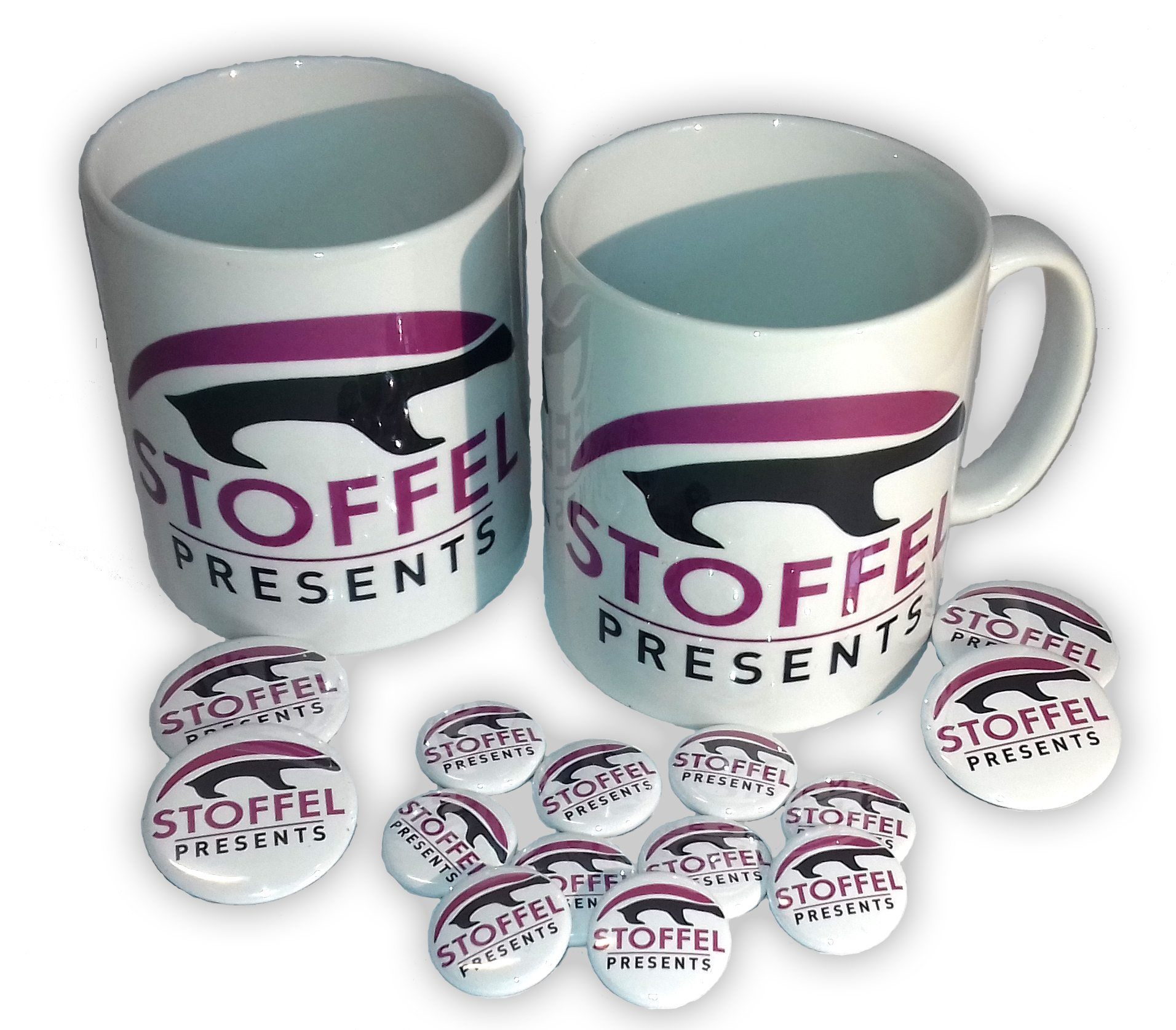 Custom Printed Tea & Coffee Mugs - Stoffel Presents