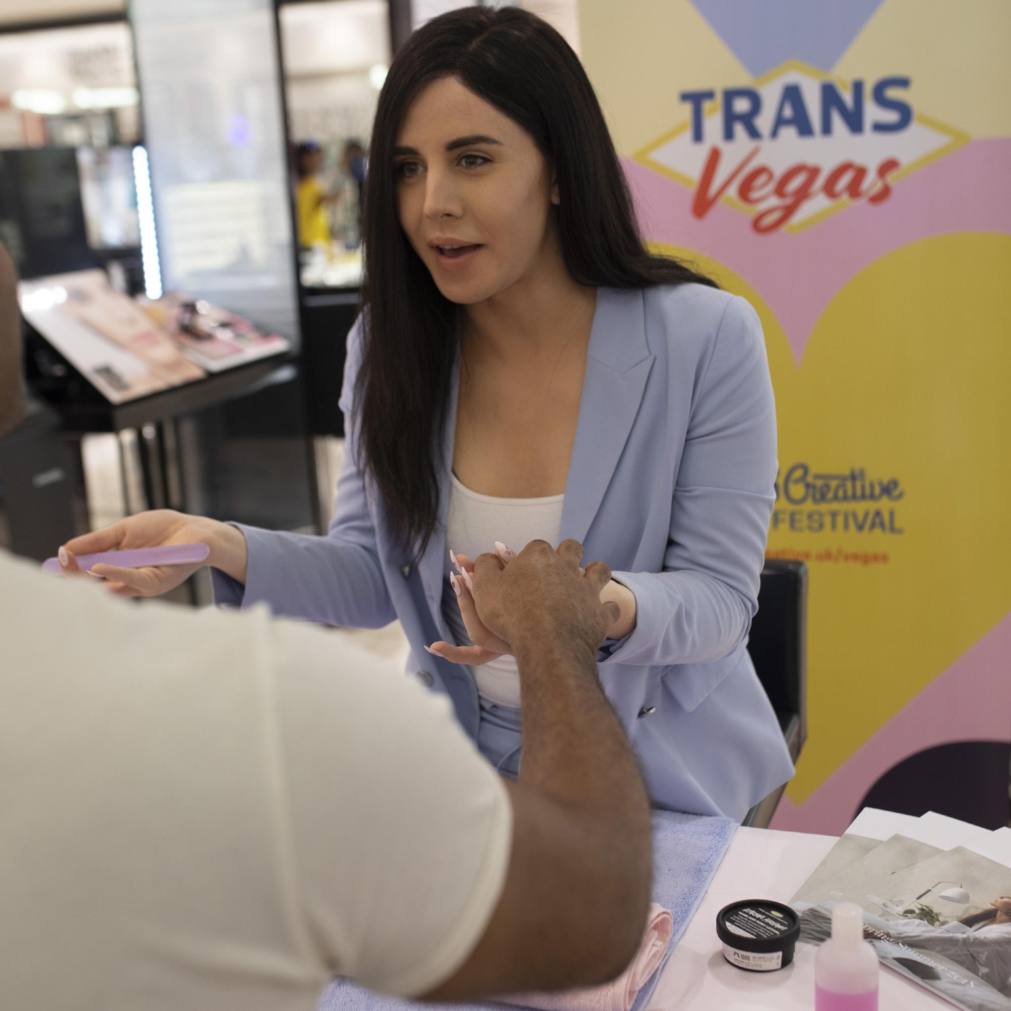Charlie Craggs: Nail Transphobia