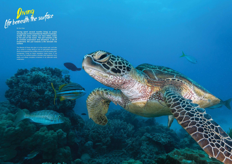 Publication in Adventure Magazine - Summer Edition