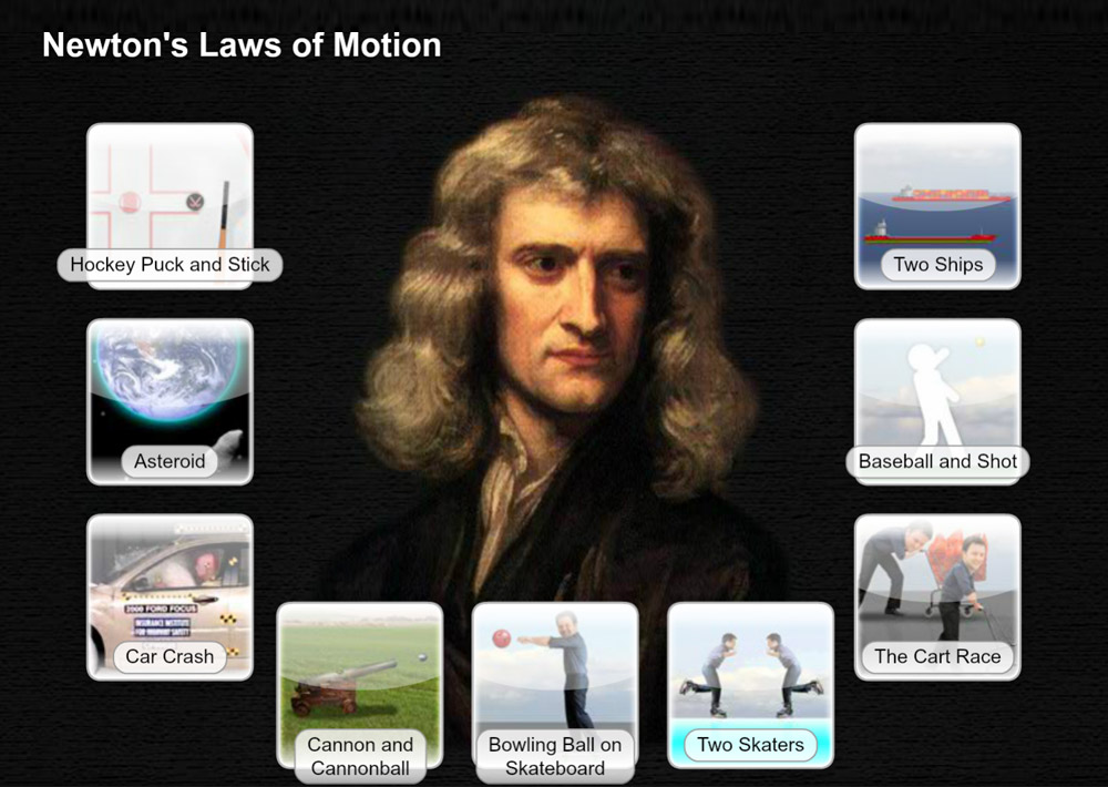 Science Software - Newton's Laws