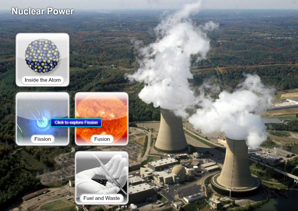 Science Software - Nuclear Power Explorer