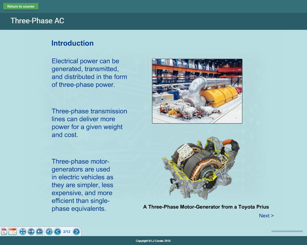 Hybrid Vehicle Lessons - Theory Presentation