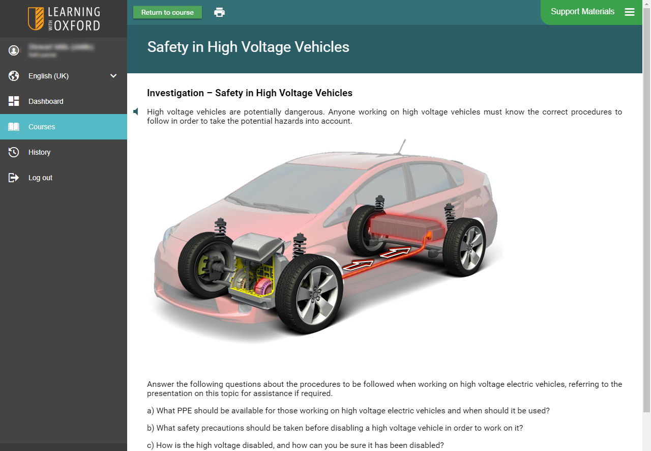 Hybrid Vehicle Software - Investigation
