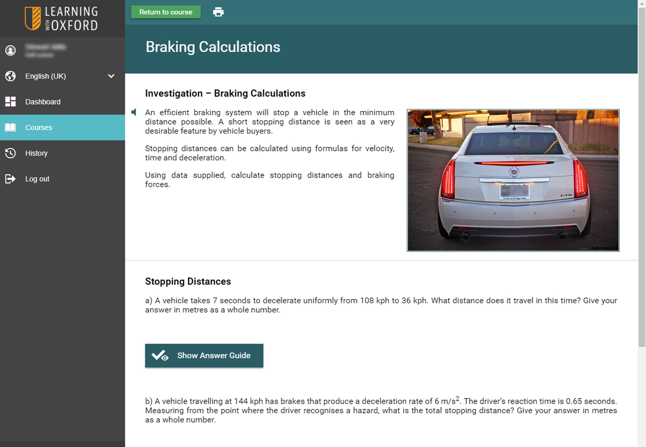 Automotive Software - Braking Systems Investigation