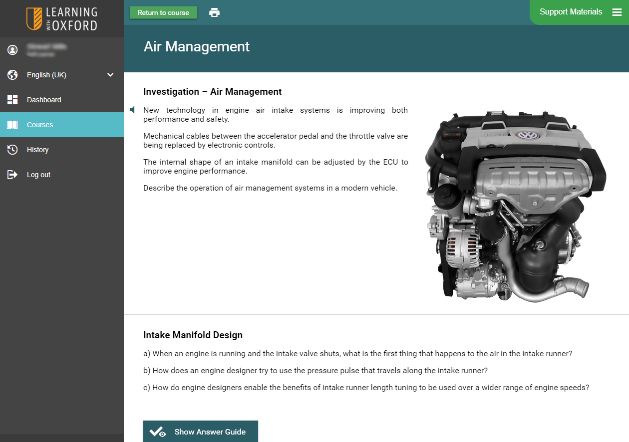 Automotive Software - Engine Systems Investigation