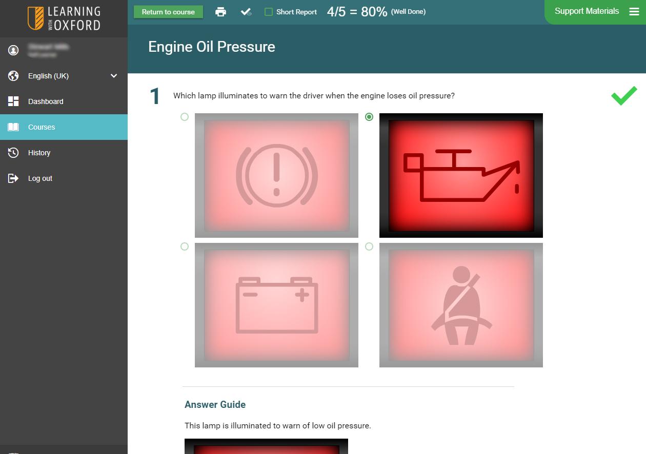 Automotive Software - Engine Systems Assessment Quiz
