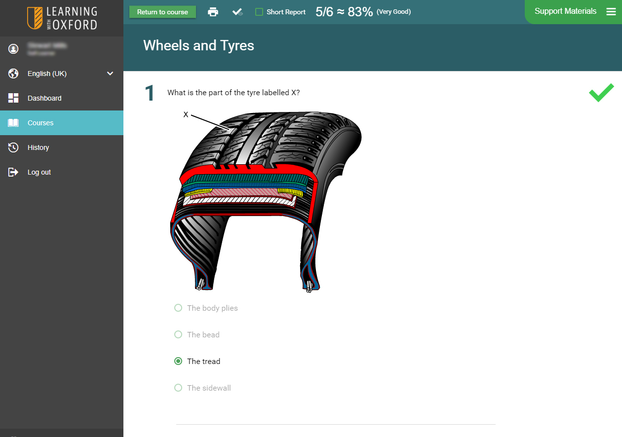 Automotive Software - Steering and Suspension Assessment Quiz