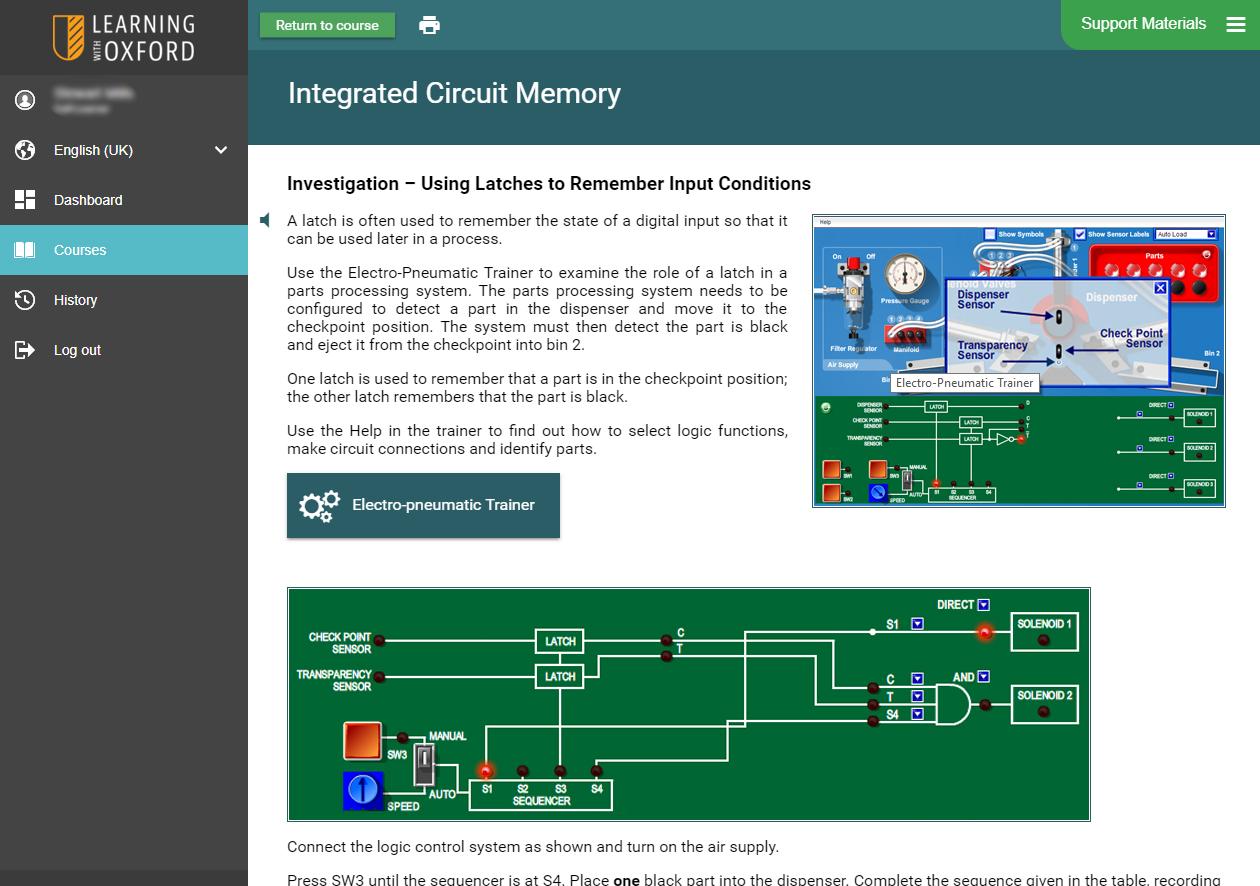 Electronics STEM Software - Investigation