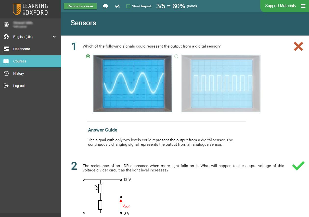 Electronics STEM Software - Assessment Quiz