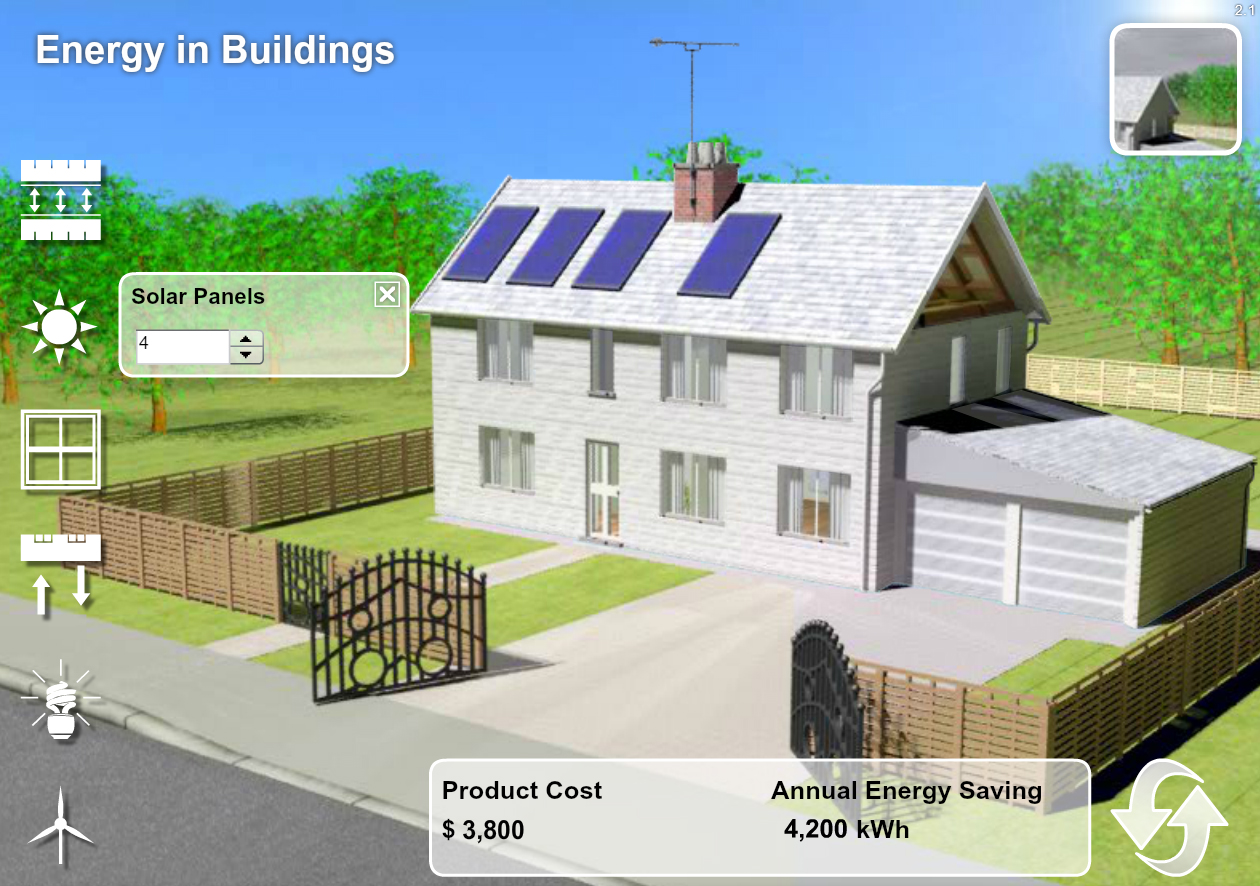 Physics Software - Energy in Buildings Explorer