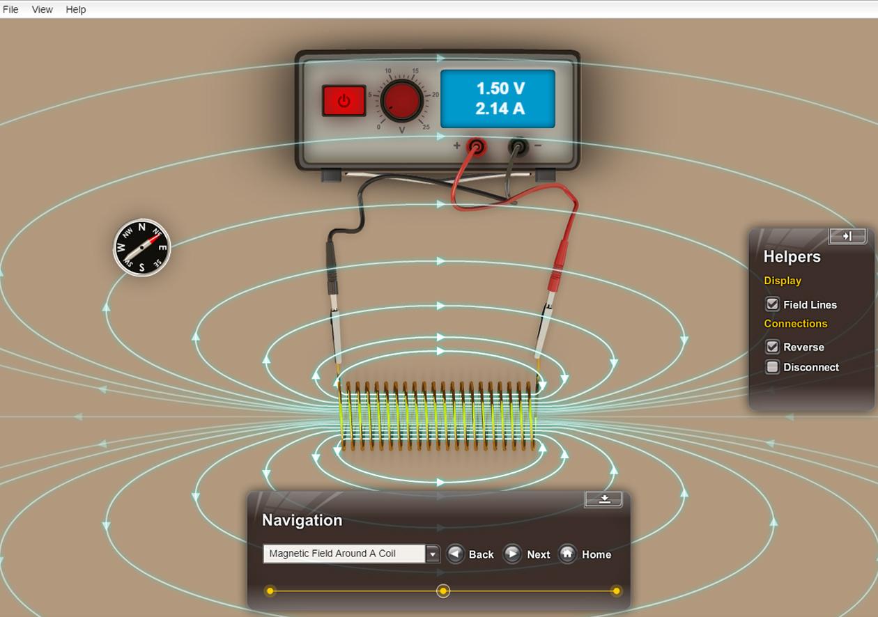 Physics Software - Electromagnetism Explorer