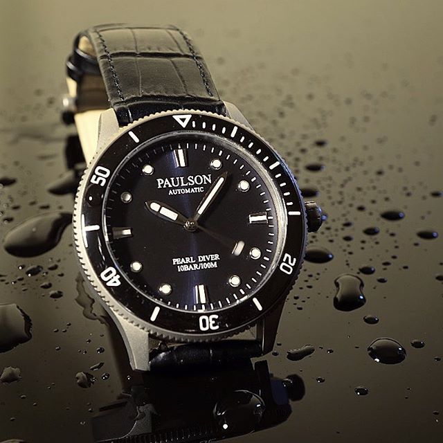 #italianleather #automatic #divewatch #grade5titanium #superluminova #waterproof ...we're launching on October 1st.  Sign up now for our early bird discount, visit www.paulsonwatches.com.  #watches #divewatches #titaniumwatch #diverswatch #newwatch #paulsonwatches #watches #watch #watchfam #watchoftheday #watchesofinstagram #watchaddict #watchgeek #wristshot #wristporn #watchnerd #diverwatch #instawatch #diver #watchfamasia #miyota #miyota9015 #superluminova #lightweightwatch #diverswatchaddict #diverswatches