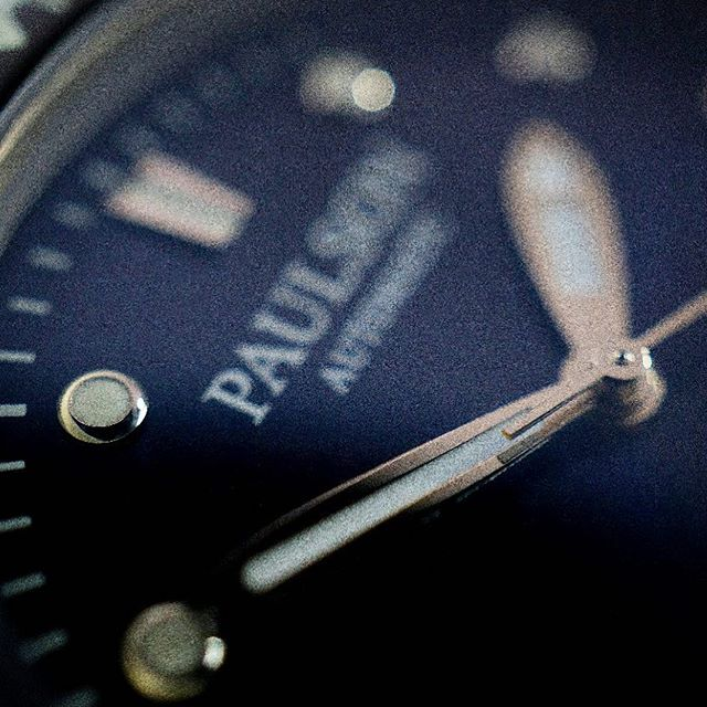Polish finish luminous hands.  The Paulson Pearl Diver is one of the world's toughest, lightest, slimmest dive watches... Stay tuned as we launch soon on Indiegogo.com. |  Come check out our website www.paulsonwatches.com  #watches #divewatches #titaniumwatch #diverswatch #newwatch #paulsonwatches #watches #watch #watchfam #watchoftheday #watchesofinstagram #watchaddict #watchgeek #wristshot #wristporn #watchnerd #diverwatch #instawatch #diver #watchfamasia #miyota #miyota9015 #superluminova #lightweightwatch #diverswatchaddict #diverswatches  #grade5titanium  #divewatch  #automatic