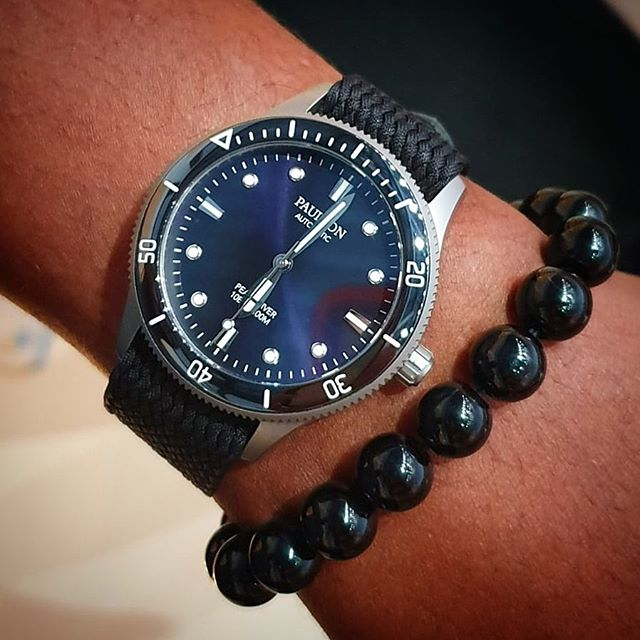 #accessorize your #pearldiverwatch #titaniumwatch #divewatch