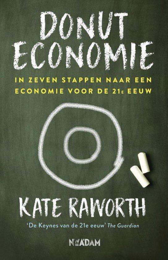 Donut Economics - Kate Raworth - Raworth wilde een alternatief lesboek schrijven, maar eindigde met iets veel leerbaarders. Dit fantastische boek brengt een indrukwekkend areaal aan ideeën bijeen over de economie waar we momenteel in leven, de economie die we met z'n allen nodig hebben en wat we moeten veranderen in ons denken om die dichterbij te brengen.