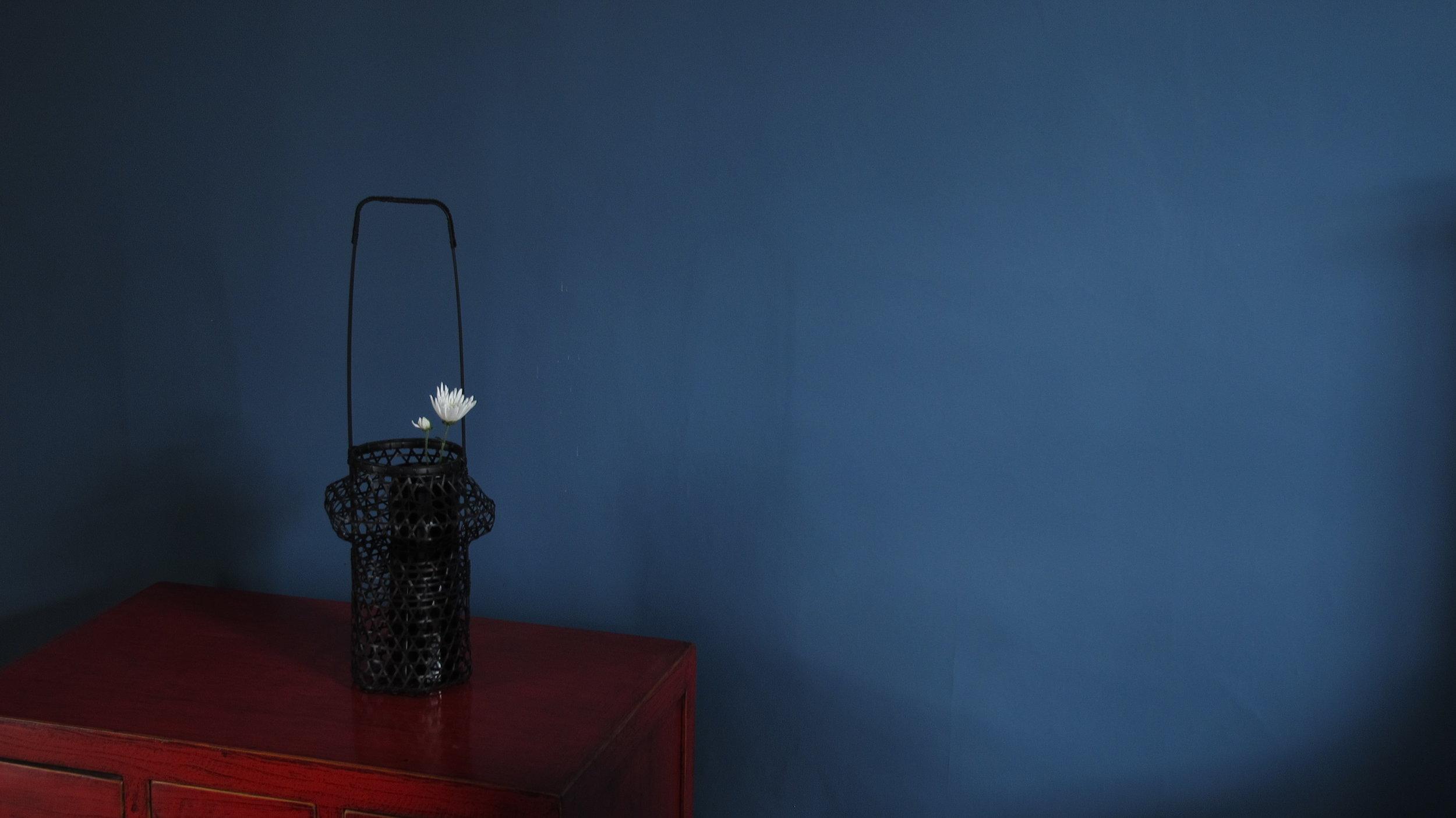 Bamboo Flower Basket by Chikuseido