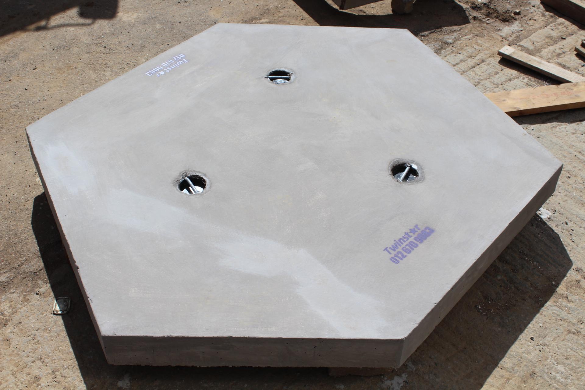 Junction Box Slabs -