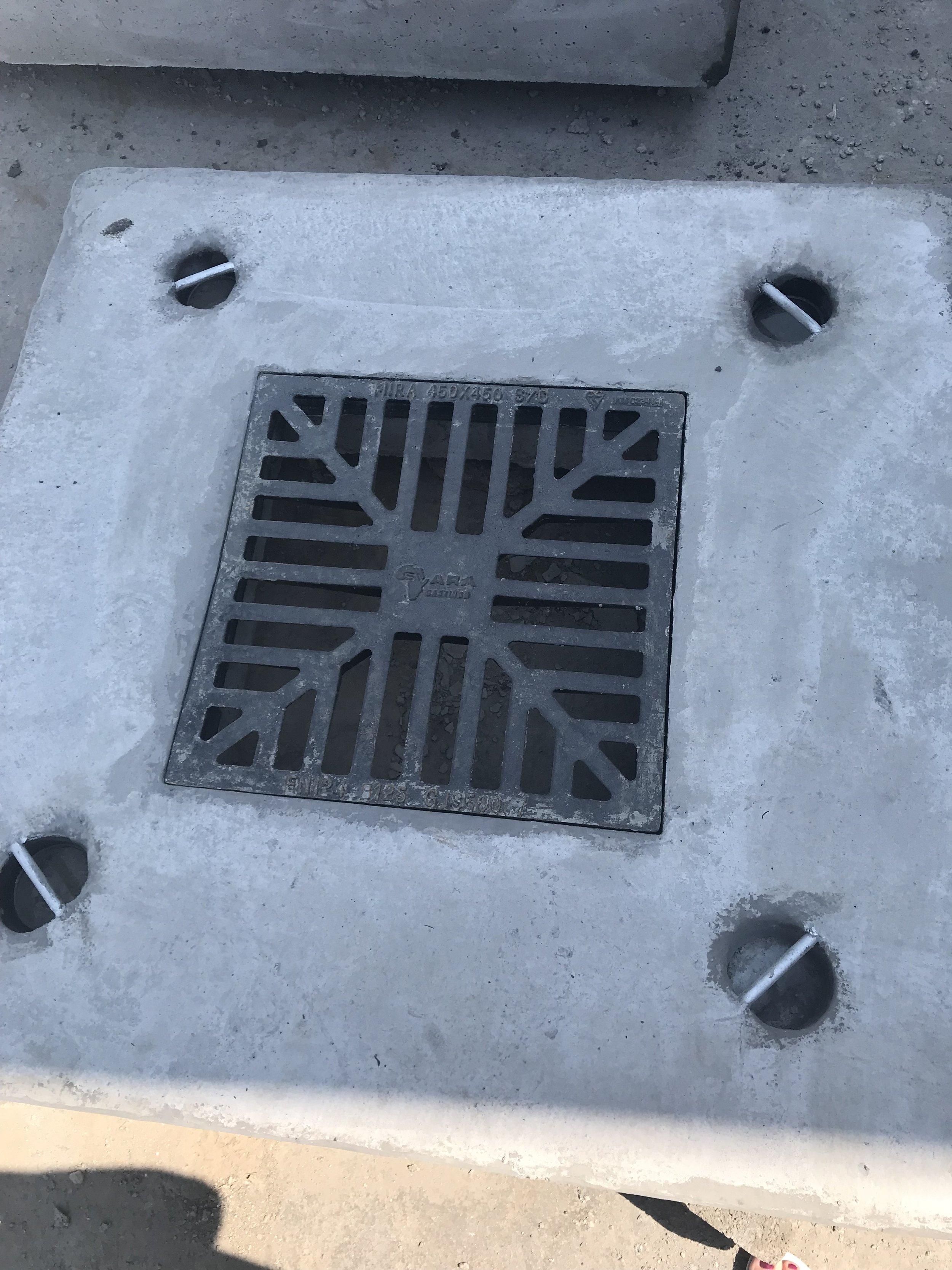 Grid Inlet Slab