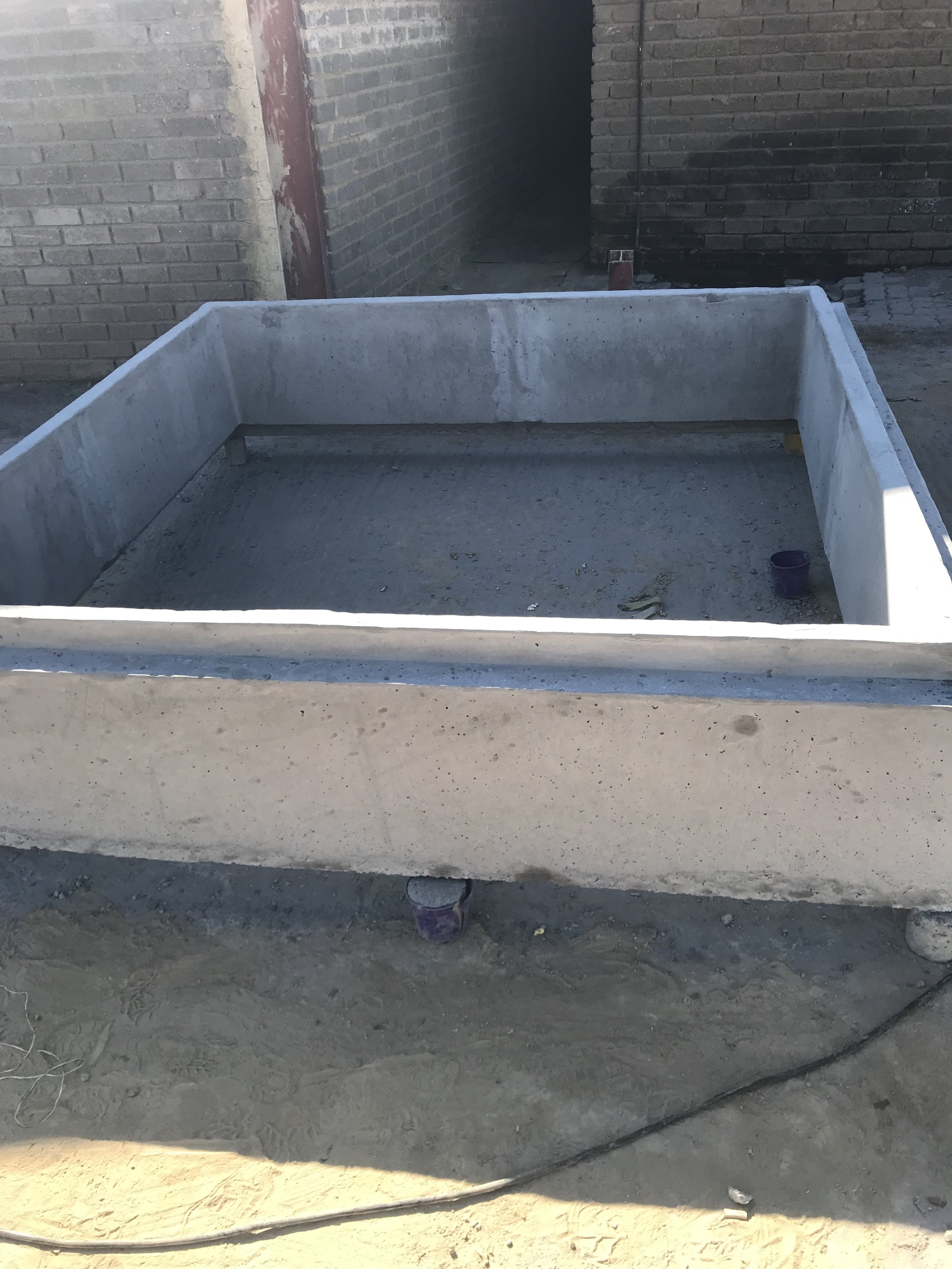 2000mm ID x 500 High Square Manhole Section