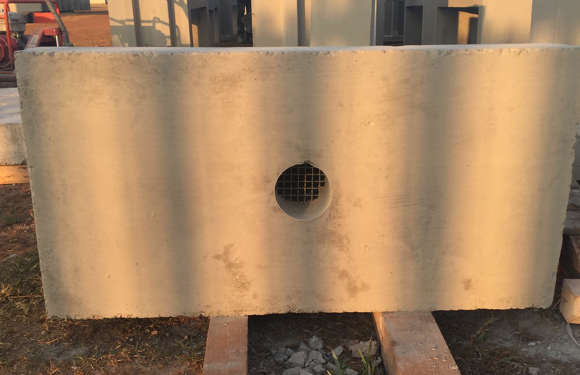 Subsoil Outlet Front View