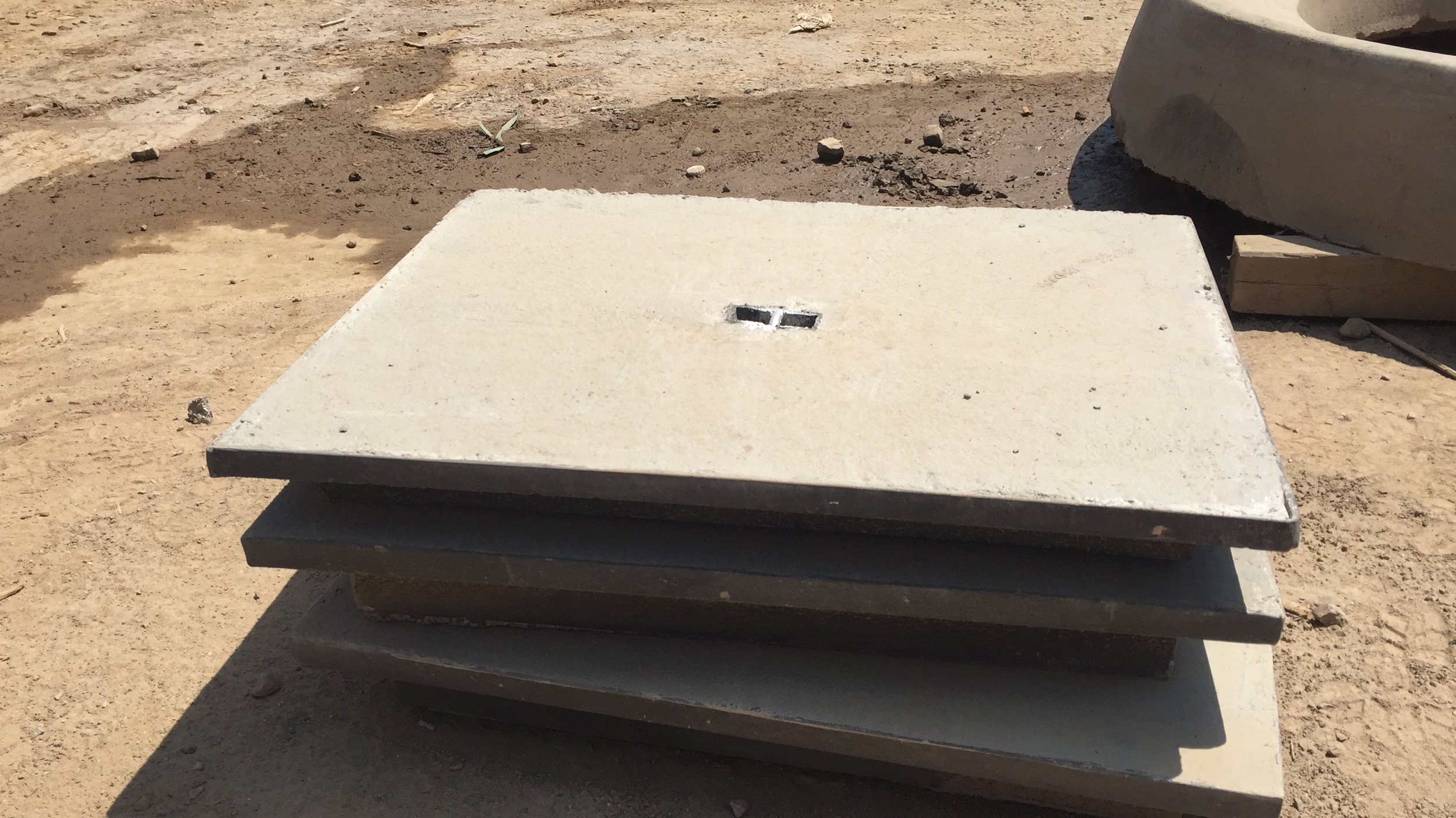 450 x 600 Light Duty Concrete Lid