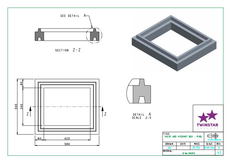 Joburg Water Valve Box Frame