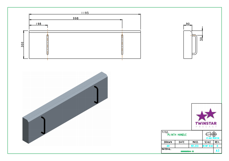 P21 Removable Front Slab