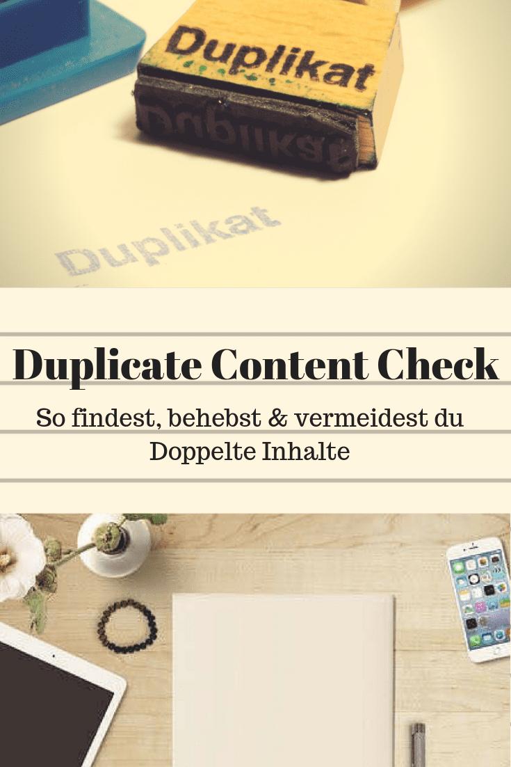 Klick auf das Beitragsbild und lerne, wie du Duplicate Content findest und vermeidest.