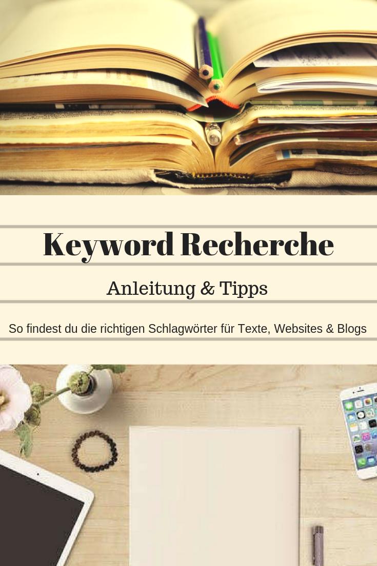 Brauchst du Hilfe beim Finden der richtigen Keywords? Klick hier und hol dir praktische Tipps für die KW-Recherche.