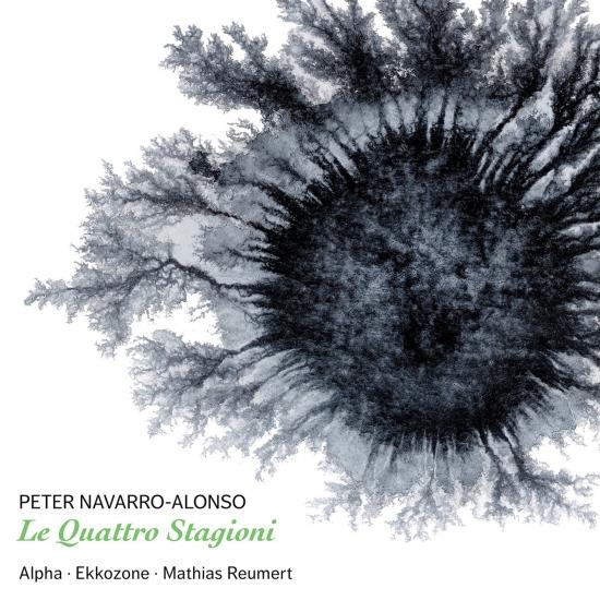 LE QUATTRO STAGIONI - Compositions by Peter Navarro-Alonso for Alpha and orchestra. Featuring Bolette Roed (recorder), Peter Navarro-Alonso (saxophone), David Hildebrandt (percussion), Mathias Reumert (conductor) and The EKKOZONE Ensemble. Dacapo Records 2018.