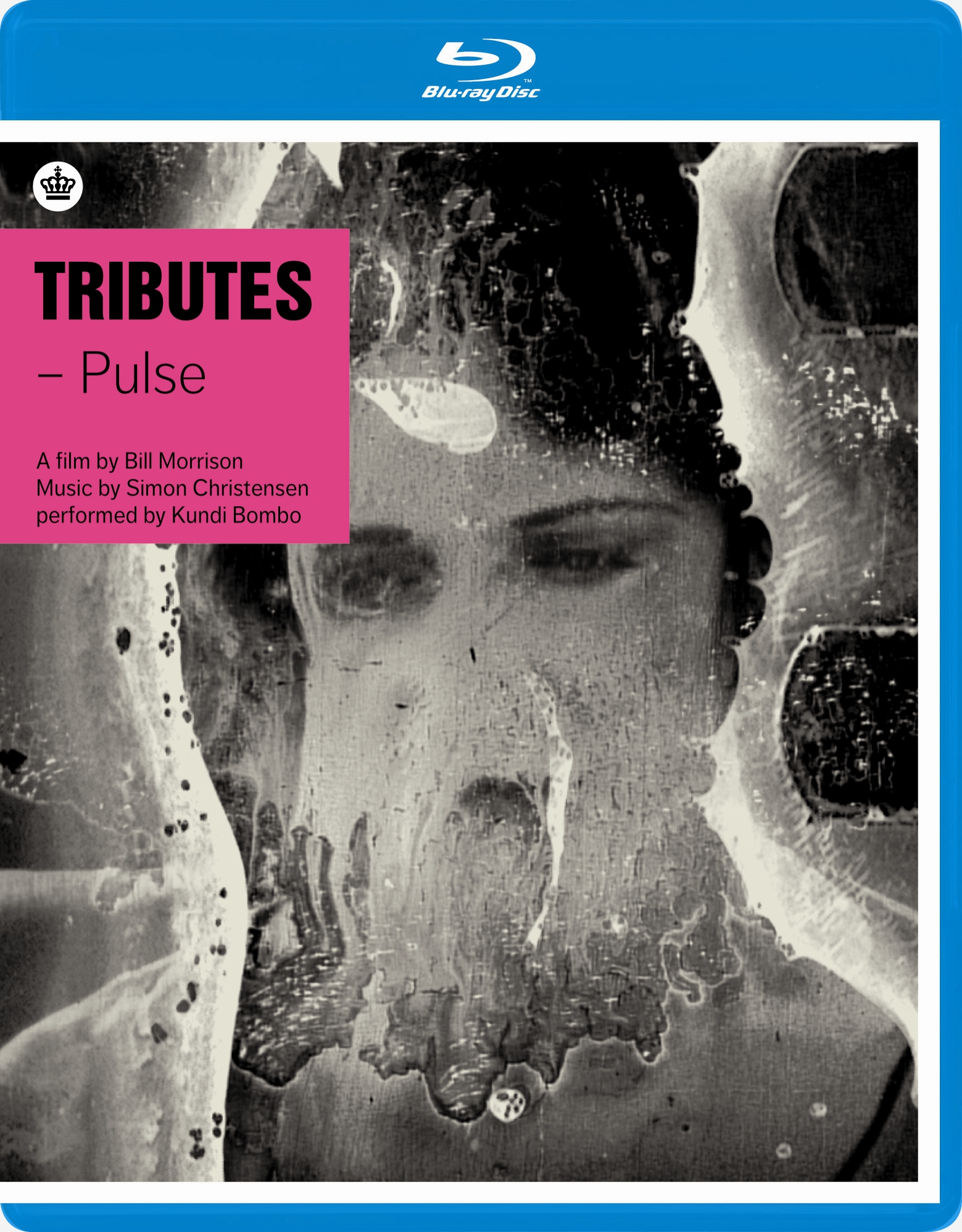 TRIBUTES - PULSE - A collaboration between American filmmaker Bill Morrison and Danish composer Simon Christensen. Through image and sound Morrison and Christensen have created a requiem for the 20th century - the persistence of a pulse, the contractions of the heart. Featuring Christina Åstrand (violin) and Peter Navarro-Alonso (saxophones). Blu-ray release. Dacapo Records 2011.