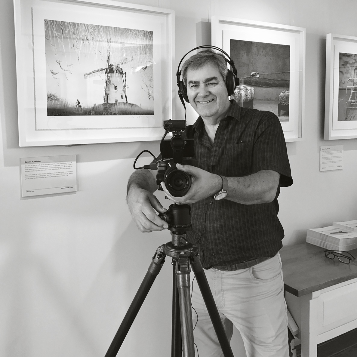 """John Langridge - TUTORWith over thirty years as a successful commercial photographer, John Langridge's thriving studio in West Sussex specialises in portraiture and wedding photography and in recent years has expanded to offer film production for the business sector. John also has a real passion for the great outdoors and landscape photography and it is his clever use of lighting evident in all of his work that he is best known for.""""I started in the 1980s with a Hasselblad film camera and I'm excited to teach with Coast & Capture because fundamentally the principles of photography remain unchanged today. It's about light, colour and composition – and above all having some fun with your photography and staying true to your creative vision""""John will be sharing his creative and technical expertise on our 'Capture To Print' Panoramic Photography Workshop in Autumn 2019."""