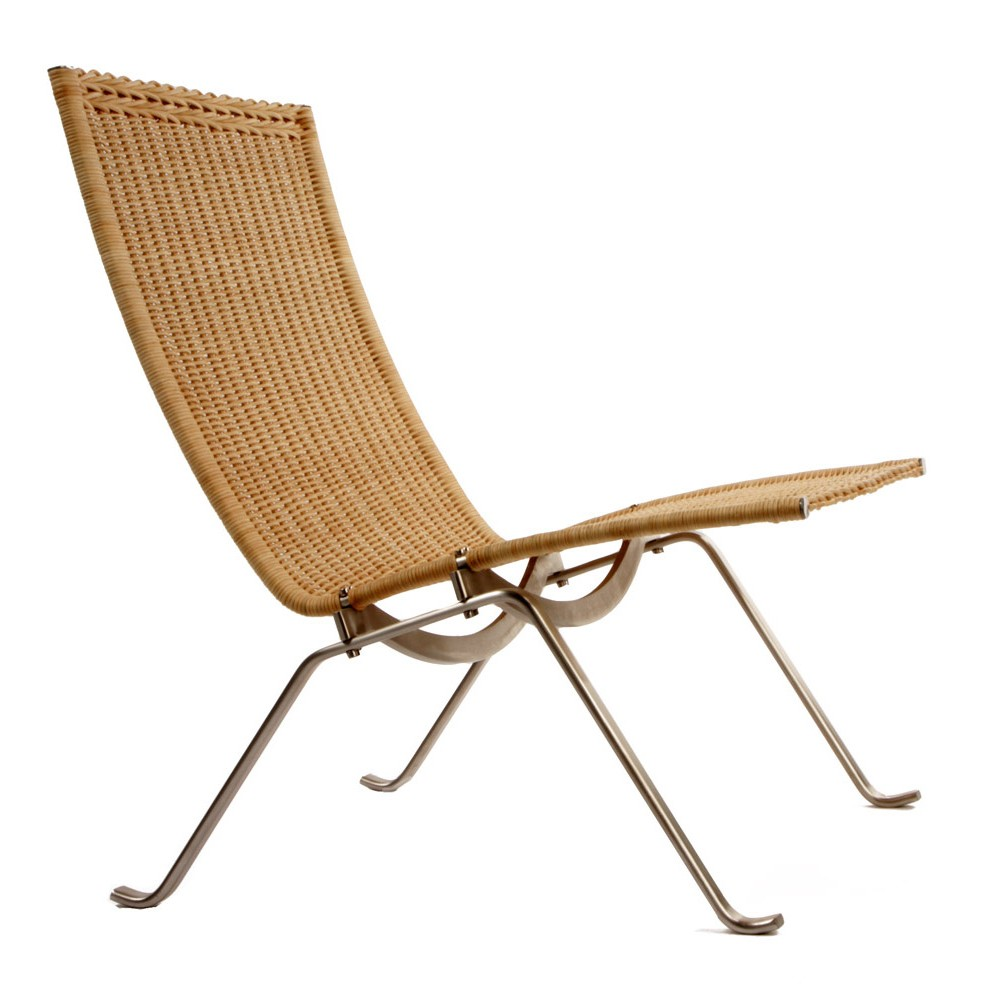 PK22 Chair.  A pair in leather on 1st Dibs.