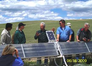 Class Solar Field Trip