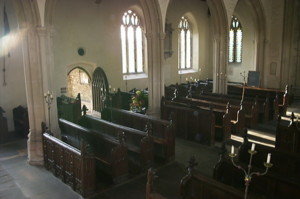 A Pulpit eye view of Church