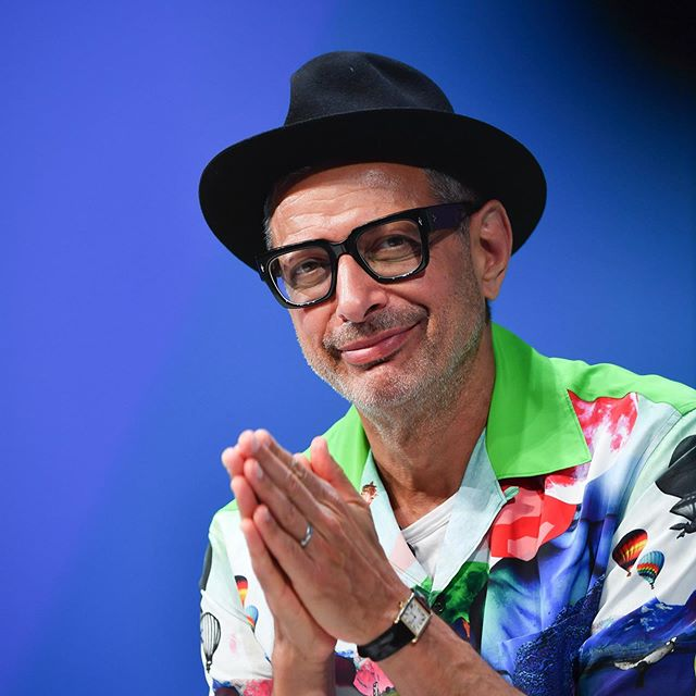 """as long as we all have something wholesome and sincere in mind...I'm inspired by the idea that the world can work for everyone"" @jeffgoldblum on AI discusses the future of entertainment #canneslions #inspiringcreativity #lions #jeffgoldblum #ai #entertainment #jurassicpark"